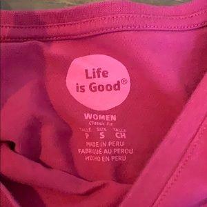 Life Is Good Tops - long sleeve life is good shirt